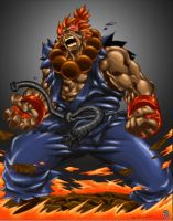 NgBoy's Akuma - Colored by s0pas