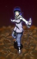 digital : naruto shippuden hinata 2013 by darshan2good