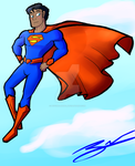Superman by Psyche-Angel