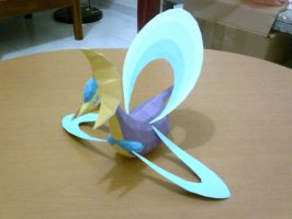 Cresselia Papercraft by ShiroKoori