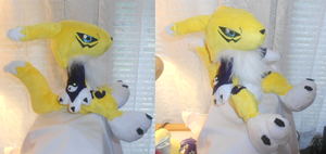 Renamon Plush by Sophillia