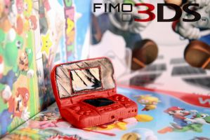 Fimo Nintendo 3DS by 55Laney69