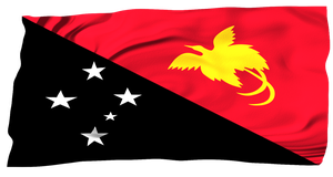 Flags of the World: Papua New Guinea by MrAngryDog