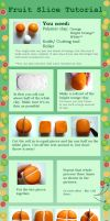 Fruit Slice Tutorial by QueEnOfNights