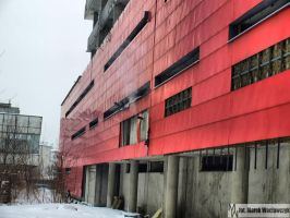 Unfinished building II by waclawq