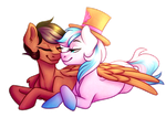 {Commission} : Artsong and Crystal by Micky-Ann