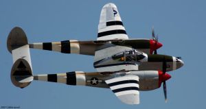 P-38L Lightning by Photobeast
