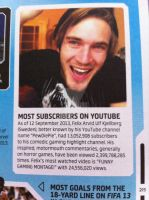 Pewds record! by AskTuxSonicsSister