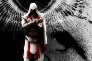 ezio auditore angel by mohammad1214