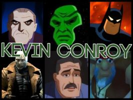 Kevin Conroy Characters by PhantomEvil