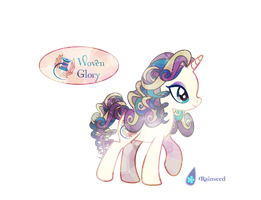 -OPEN- Auction Crystal Pony: Woven Glory by Rainseed