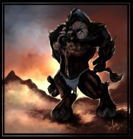 World Of Warcraft -- Tauren by vivenaishide