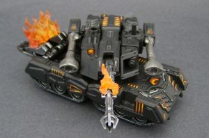 The Fallen battle tank mode2 by Jin-Saotome
