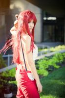 Erza Scarlet, Fairy Tail Cosplay by firecloak