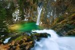 Salza Waterfall II by Nightline