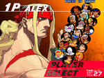 fighter player select by metal-slug-233