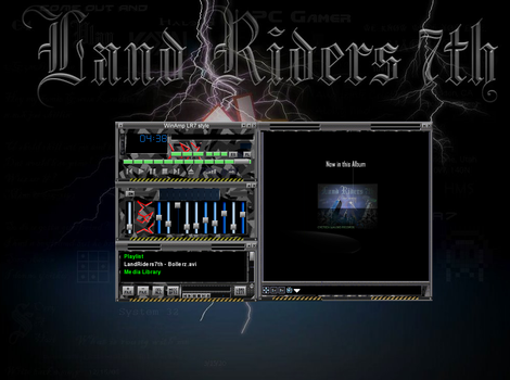 LR7style2008 VLC theme by LandRiders7th