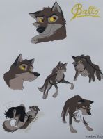 balto from balto fanart by nanaki by draggane