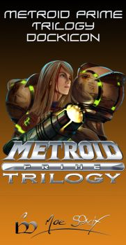 Metroid Prime dock icon by MoeStrif