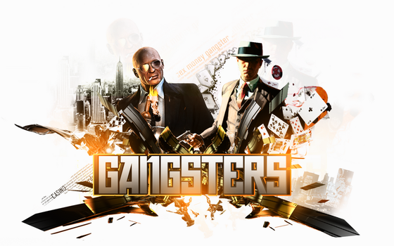gangster art by Col0rblind