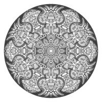 Mandala drawing 1 by Mandala-Jim