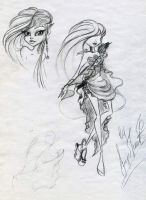 Sketchbook: Felia by MyoMeit