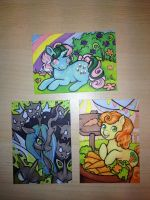 More Pony Cards by Sukeile