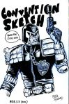 Judge Dredd PRESS 2010 by StevenHoward