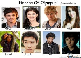 Heores of Olympus Movie by mynameisshutup