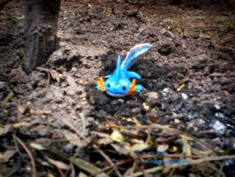 Mudkip by hamsterSKULL