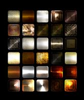 Rusty army grunge metal Styles by Star-Graphics