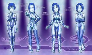 The Evolution of Cortana by GRANDBigBird