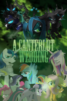 A Canterlot Wedding Poster by TheWolfPack15