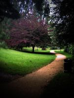 through the gardens by awjay