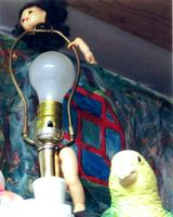 DOLL LAMP by PISAM