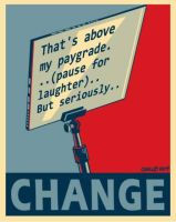 Teleprompter For Change by Conservatoons