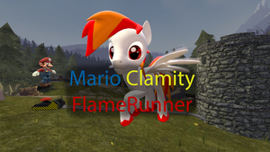 Mario Clamity Flamerunner (Link in description) by sjf95fighter