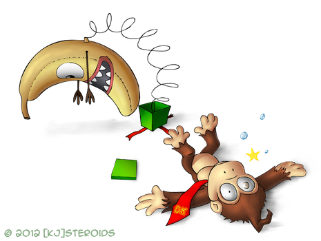 Mario Christmas Collab: Donkey Kong by kjsteroids