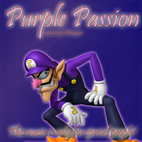 """Purple Passion"" Front Cover by waluigisrevenge"