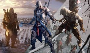 Assassins Creed 3 background by SuperNinjaMan97