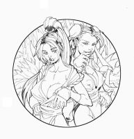 Chun Li and Mai Final by RAHeight2002-2012