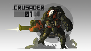 Crusader.01 by The-Red-Right-Hand