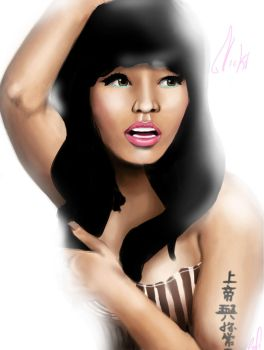 Nicki Minaj by Lasque