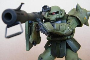 MG Zaku II 2 by UbersCosplay
