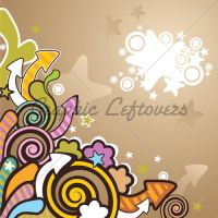 Colorful Cartoon Background by kingofvectors