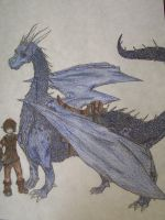 eragon and saphira by flamingtriforce2