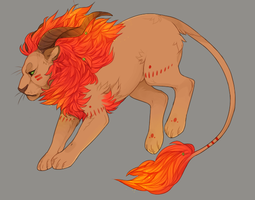 fire element commission by ohhgosh