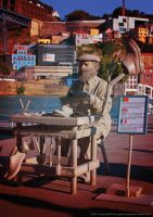 Living Statue by JWabbit