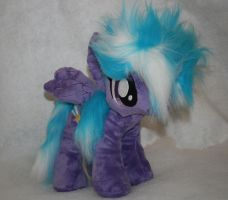 Custom FIM my little pony plush Cloud Chaser by eponyart