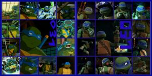 TMNT:: Leo: Collage: 2003/2012 by Culinary-Alchemist